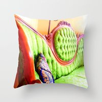 Have A Seat! Throw Pillow