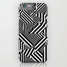 Dazzle Camo #01 - Black & White Slim Case iPhone 6s