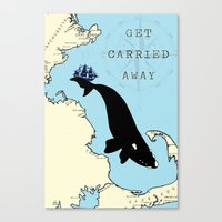 Get Carried Away Canvas Print
