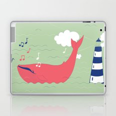 The Singing Whale Laptop & iPad Skin