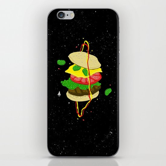 Planetary Discovery 8932: Cheeseburger iPhone & iPod Skin