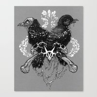 Hells Pigeons Canvas Print