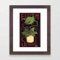 The Horror! Framed Art Print