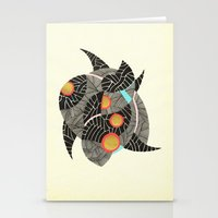 - summer spaceships of love - Stationery Cards