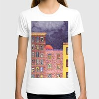 city T-shirts featuring City by Dawn Patel Art