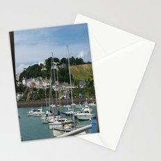 Boats in a Marina Stationery Cards