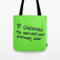 P. Sherman, 42 Wallaby W… Tote Bag