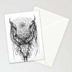 Venus Skull Stationery Cards
