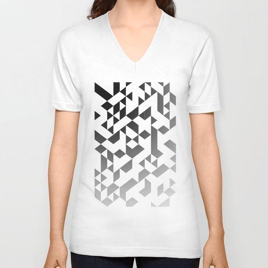 Triangles 4B V-neck T-shirt