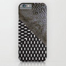 waves/grid #10 iPhone 6s Slim Case