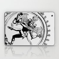 Natraj Dance - Mono Laptop & iPad Skin
