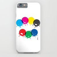 iPhone & iPod Case featuring CMYK fights RGB by petipoa