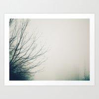 Fog Noir 4 Art Print
