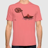 Alternative Travel Mens Fitted Tee Pomegranate SMALL