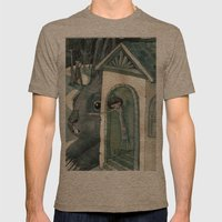 Re:1 Mens Fitted Tee Tri-Coffee SMALL