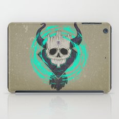 A KING IN DEATH iPad Case