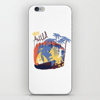 WILD RUMPUS iPhone & iPod Skin