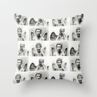 Weeping Angels  Throw Pillow