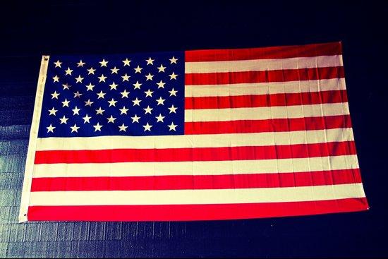 Wall flag Art Print