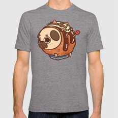 Puglie Takoyaki Mens Fitted Tee Tri-Grey SMALL