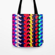 Spectrum Cubes / Pattern #7 Tote Bag