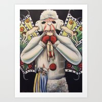 Lambifer Chop Art Print
