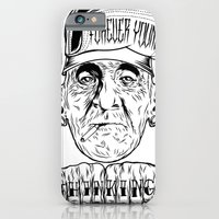 iPhone & iPod Case featuring forever young by thinKING