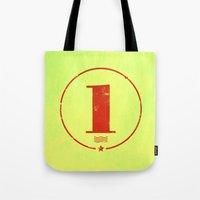 One 'Stamp' Tote Bag