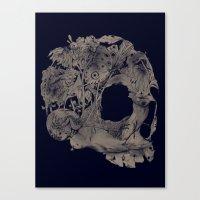 Natureza morta Canvas Print