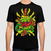 BEASTBURGER Mens Fitted Tee Black SMALL