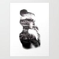 Vagabond // Fashion Illustration Art Print