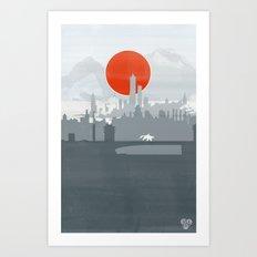 Avatar - Air Book Art Print