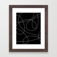 Loops Framed Art Print