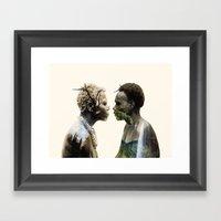 MINDURE Framed Art Print