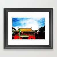 Chinatown. Framed Art Print