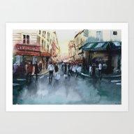 Art Print featuring PARIS by Nicolas Jolly
