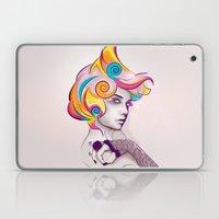 I AM MY FAVORITE COLOR Laptop & iPad Skin