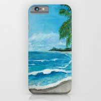 Tropical Beach iPhone 6 Slim Case