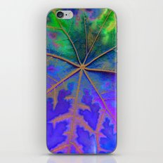 Leaf Incredible, Turquoise  iPhone & iPod Skin