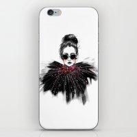 Lua // Fashion Illustration iPhone & iPod Skin