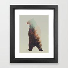 Norwegian Woods: Bear Framed Art Print