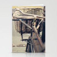 Old Bicycle (Retro - Vintage Photography) Stationery Cards