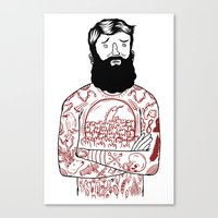 Matt the Hack Canvas Print