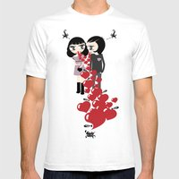 Lady & Lord Valentine's Mens Fitted Tee White SMALL