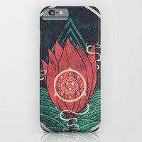 iPhone & iPod Case featuring Pulsatilla Patens by Hector Mansilla