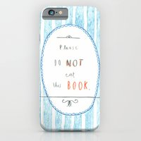 Please Don't Eat This Book iPhone 6 Slim Case