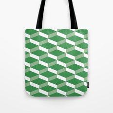 3D Green Tote Bag