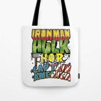The Avengers Tote Bag