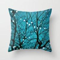 Tree Photograph. Wonder Throw Pillow