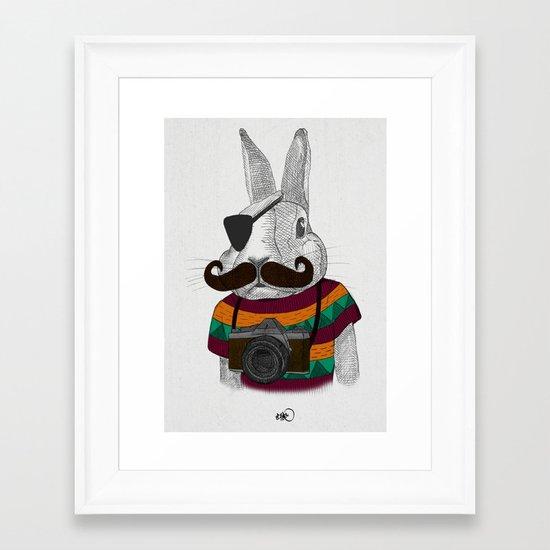 wabbit Framed Art Print
